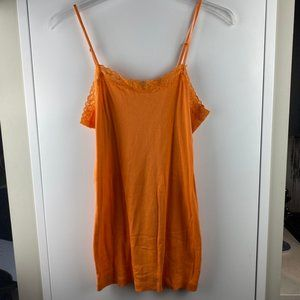Orange Lace Cami from GAP